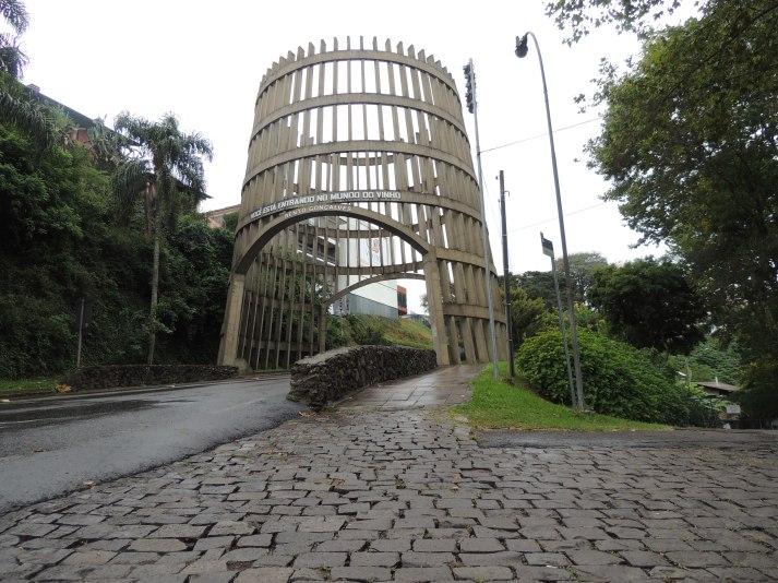 Pipa pórtico - Bento Gonçalves/RS