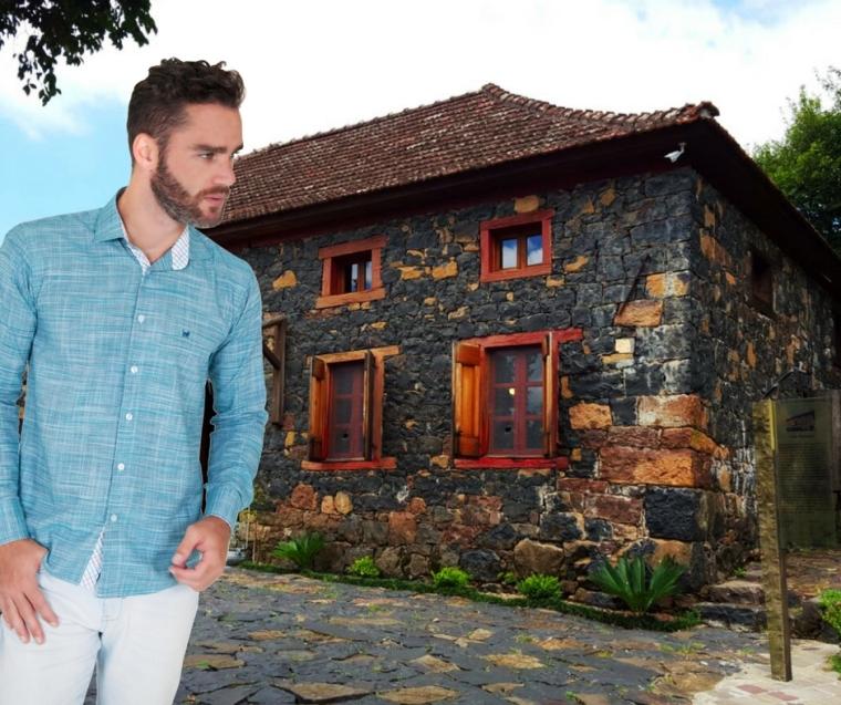 Casa Righesso - Caminhos de Pedra e camisa Lupim by Good Mood