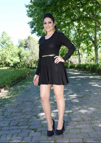 Vestido Damer detalhe metal preto