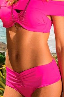 calcinha biquini cos largo rosa frente