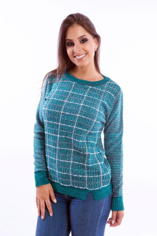 blusa-feminina-riscada-verde-agua-frente