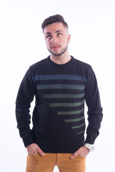 blusa-masculina-listras-degrade-preto-frente